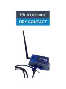 dry contact, pulse, connected