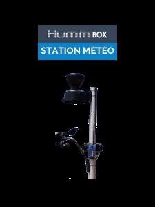 station météo, pluviomètre, anémomètre connecté