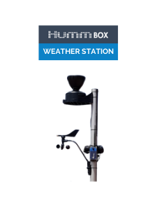 connected weather station sigfox lorawan